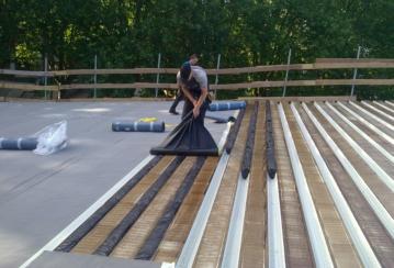 Piscine de Visé – Rénovation d'une toiture plate – 740 m²