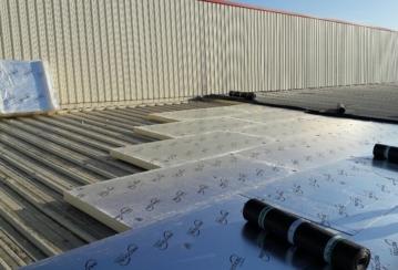 SD Viangro à Anderlecht – Rénovation d'une toiture plate – 660 m²