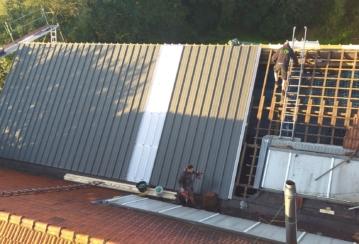 TEC à Ouffet – Rénovation de la toiture