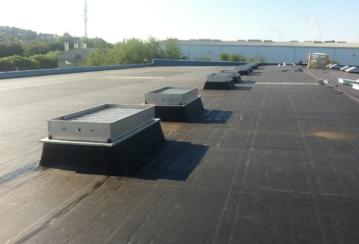 SCA Hygiène Products s.a. à Stembert – Rénovation étanchéité d'une toiture plate – 10370 m²