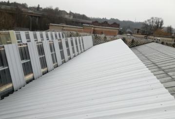 Verviers Freins à Verviers – Rénovation d'une toiture en tôles simple peau