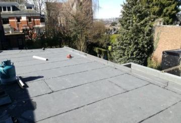 Réalisation d'une toiture en roofing à Verviers – 280 m²
