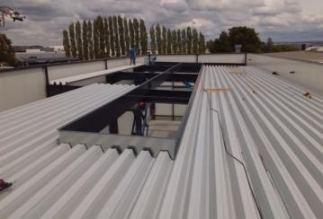 HD Métal s.a. – Hall industriel à Petit-Rechain – 380 m²